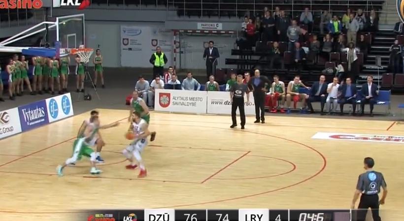 Η απίστευτη γκάφα που χάρισε τη νίκη στη Λιέτουβος Ρίτας (video)