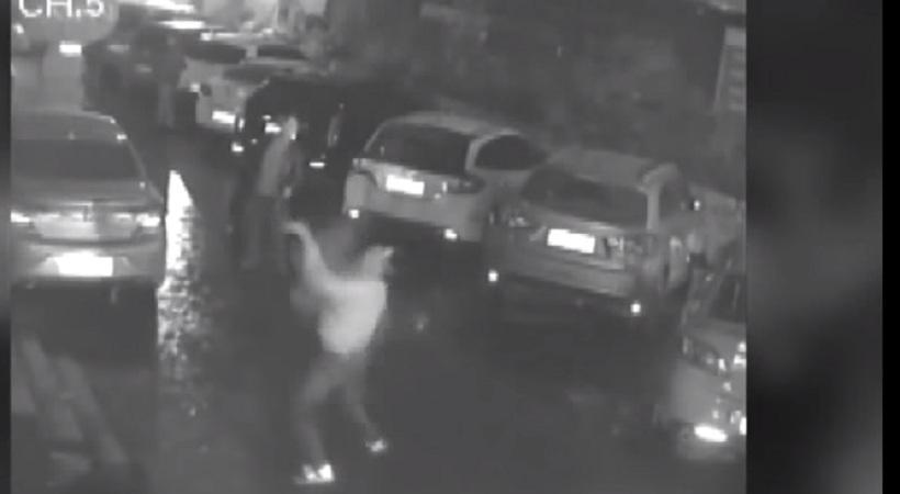 Βίντεο: Έπιασε με τα χέρια γυναίκα που βούτηξε από τον 11ο όροφο