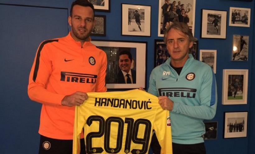 Χαντάνοβιτς μέχρι το 2019 στην Ίντερ