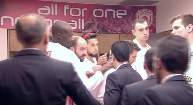 Έτσι «ντόπαρε» τους παίκτες του εν όψει «Μπάρτσα» ο Σφαιρόπουλος (video)