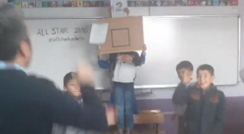 Buzzer beater σε σχολική τάξη! (video)