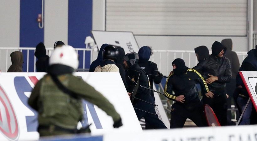 Βίντεο από τις συμπλοκές στο Ατρόμητος-ΑΕΚ!