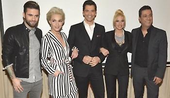 Το X-Factor επιστρέφει: Όλες οι φωτογραφίες από τη συνέντευξη Τύπου