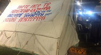 Βίντεο: Ολονυκτία με φασολάδα στο Σύνταγμα για τους αγρότες (pics+video)