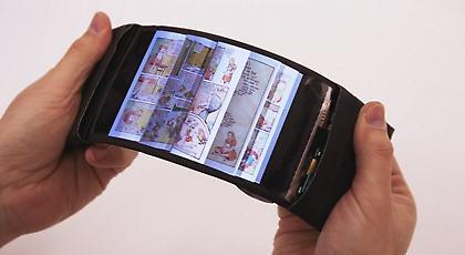 Δημιουργήθηκε το πρώτο πραγματικά εύκαμπτο «έξυπνο» κινητό τηλέφωνο