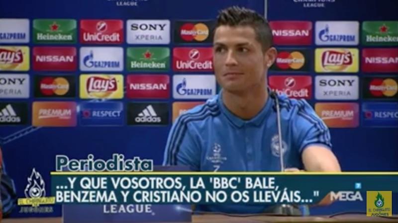 Οι εκφράσεις του Ρονάλντο στη συνέντευξη τύπου τα λένε... όλα (video)