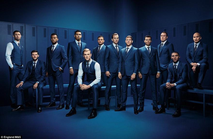 Ομάδα... μοντέλο η εθνική Αγγλίας (pics)