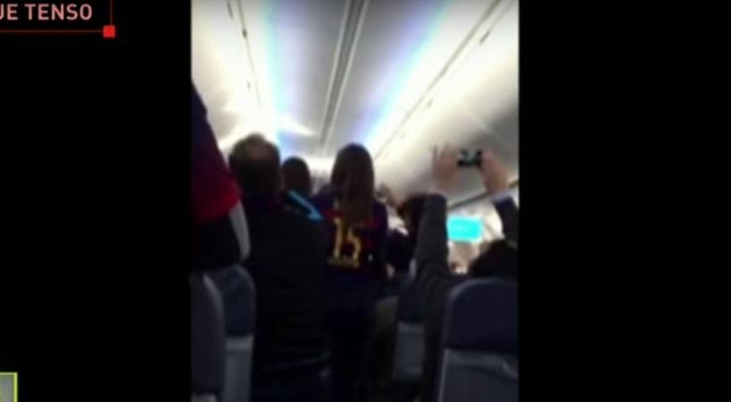 «Εξέγερση» οπαδών της Μπαρτσελόνα στον αέρα κατά της ομάδας (video)