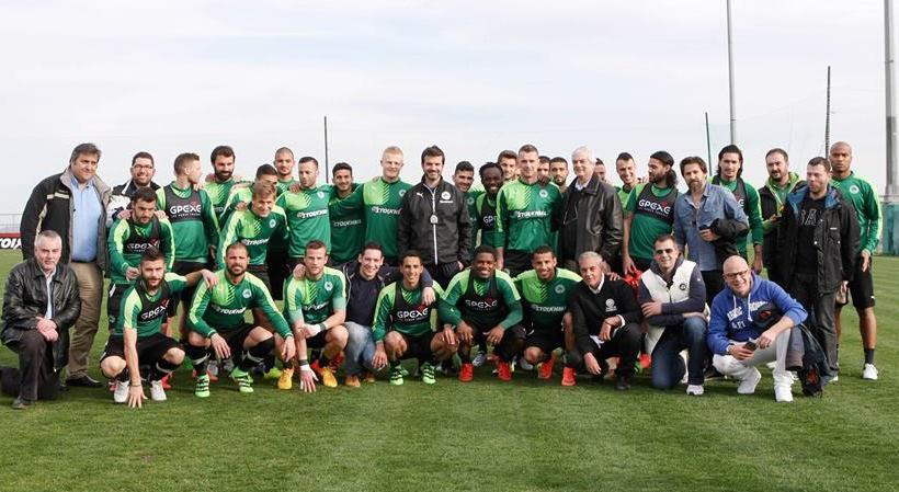 Συναντήθηκαν με Στραματσόνι και παίκτες τα μέλη της Συμμαχίας (pics)