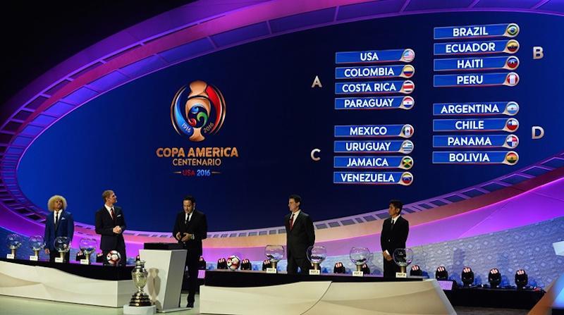 Αυτοί είναι οι όμιλοι και η μπάλα του Copa America Centenario (pics)