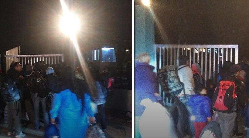 Χαμός τους μετανάστες στο Σχιστό: Τους πάνε με πούλμαν και φεύγουν με ταξί!