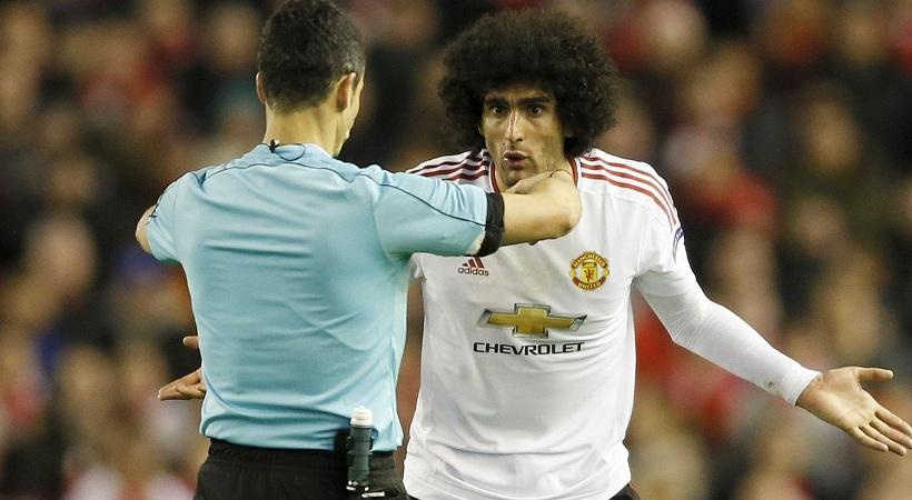 Δεν τιμωρεί Γιουνάιτεντ για τα εμετικά συνθήματα, ούτε Φελαϊνί η UEFA!