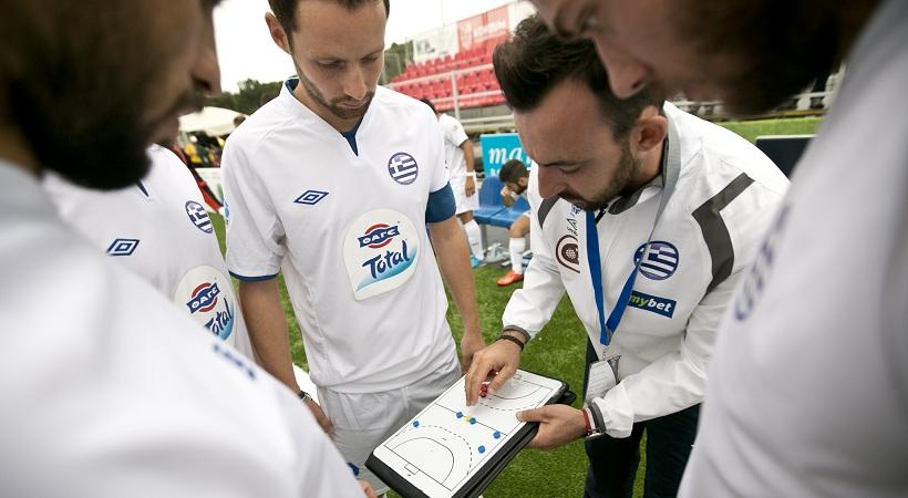 Παρούσα η Ελλάδα στο διεθνές τουρνουά minifootball!
