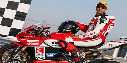 Για 4η χρονιά η ΕΚΟ χορηγός της Ducati Racing