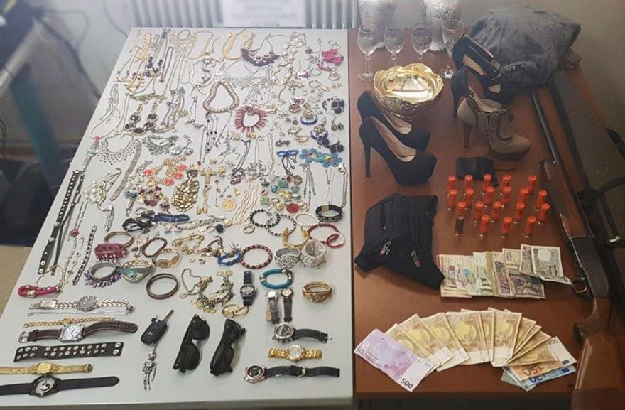 Συνελήφθη σπείρα Ρομά που είχε κάνει 153 ληστείες, κλοπές και διαρρήξεις!