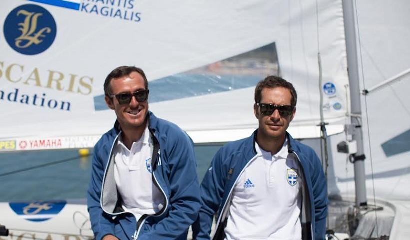 Οι Μαντής – Καγιαλής παρουσίασαν το «Ολυμπιακό» σκάφος τους