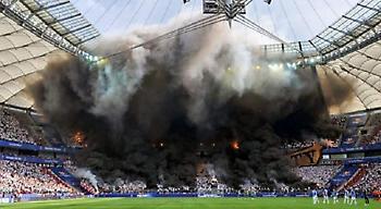 Η εκπληκτική ατμόσφαιρα των οπαδών της Λέγκια Βαρσοβίας (pics+video)