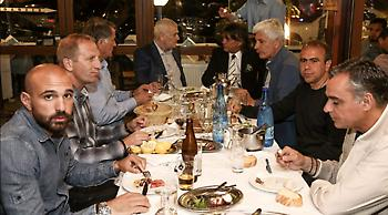 Και ο Ψινάκης μαζί με την ΑΕΚ: «Dinner με Τίγρη, Ντούσκο, Μανωλά» (pics)