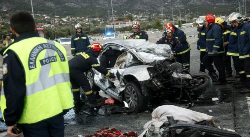 Δύο νεκροί και ένας τραυματίας στο τροχαίο στην Αθηνών – Κορίνθου