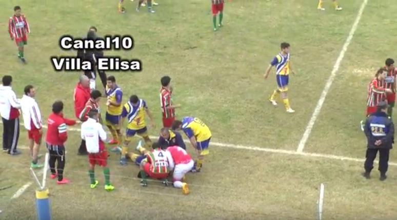 ΣΟΚ: Πέθανε στο γήπεδο μετά από γροθιά στο κεφάλι (video)