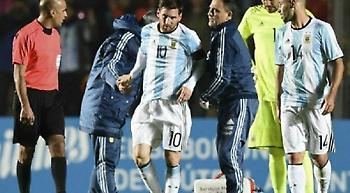 Τραυματίστηκε ο Μέσι στη φιλική νίκη της Αργεντινής (vids)
