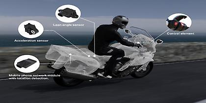 Πρώτη φορά η BMW Motorrad προσφέρει σύστημα έκτακτης ανάγκης