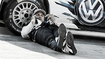 Ο Νουβίλ σε θέση οδηγού