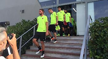 Η είσοδος των παικτών στην «πρώτη» της ΑΕΚ! (video)
