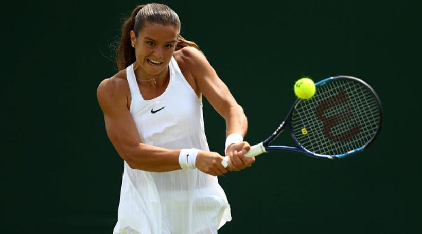 Έκανε... πλάκα στο Wimbledon η Σάκκαρη!
