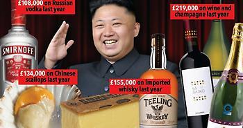 Κιμ Γιονγκ-Ουν: Δαπανά εκατομμύρια σε σαμπάνιες και τυριά ενώ οι πολίτες λιμοκτονούν