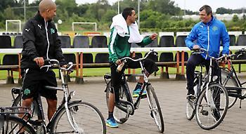 Τακτική για Παναθηναϊκό και... ποδηλατοδρομία! (video)