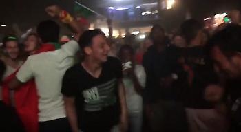 Οι έξαλλοι πανηγυρισμοί των Πορτογάλων! (video)
