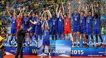 Νικήτρια του World League η Σερβία!