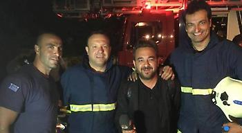Ήρωας μεταξύ ηρώων ο Γκιούρδας: Σώζει ζωές στο Πυροσβεστικό Σώμα!
