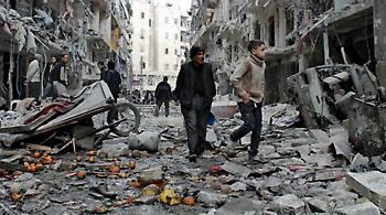 Ανθρωπιστικούς διαδρόμους για τους αμάχους στο Χαλέπι ανοίγουν Ρωσία - Συρία