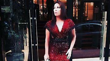 Βίντεο: Η Άντζελα Δημητρίου βραβεύτηκε στον Λίβανο