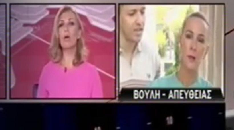 Ο Κασιδιάρης έσπρωξε τη δημοσιογράφο του ΣΚΑΪ και βγήκε live! (video)
