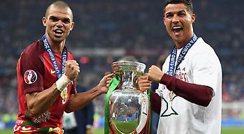Ρονάλντο: «Ο Πέπε ήταν ο καλύτερος παίκτης του Euro»