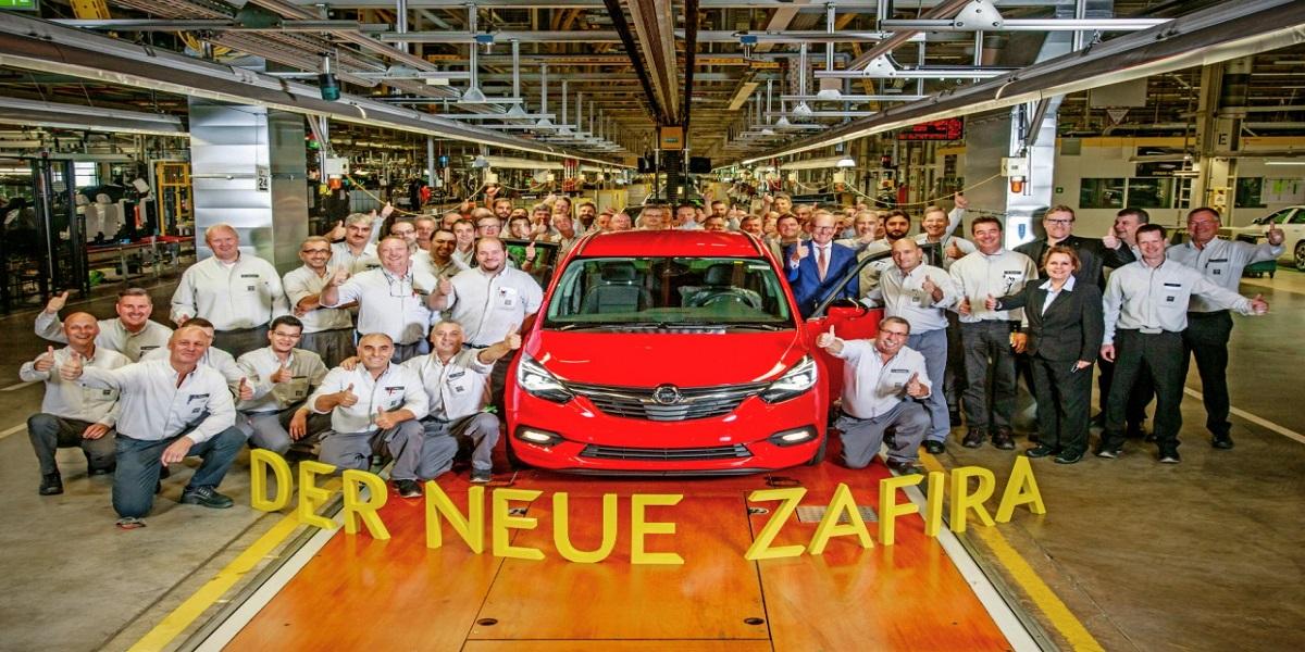 Ξεκίνησε η παραγωγή του νέου Opel Zafira στο εργοστάσιο του Russelsheim - NovaΣΠΟΡ FM 94.6