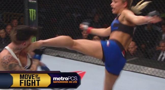 Τρομερό νοκ άουτ σε γυναικείο αγώνα UFC (video)