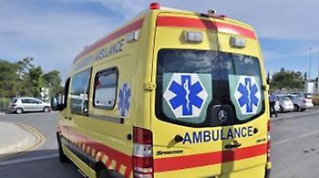 Χαμός στη Λεμεσό: Άγνωστος έκλεψε ασθενοφόρο, το τράκαρε και μετά εξαφανίστηκε