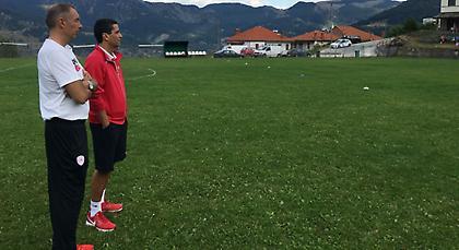 Ο Σφαιρόπουλος παρακολουθεί τα… χιλιόμετρα των παικτών του (pics)