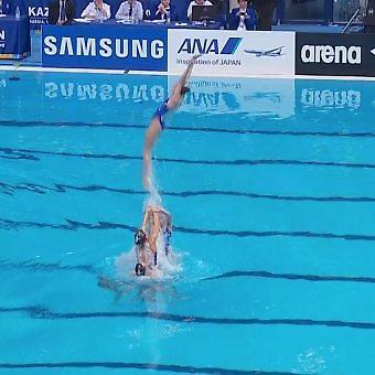 Υπερδύναμη και στην συγχρονισμένη κολύμβηση