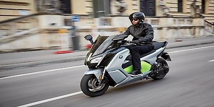 Tο νέο ηλεκτρικό scooter BMW C evolution