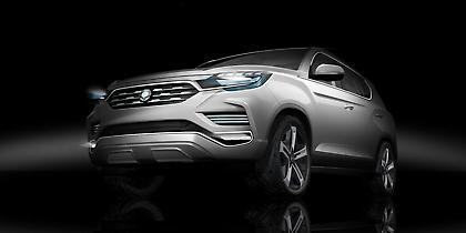 Ο προπομπός του νέου μεγάλου SUV της SsangYong