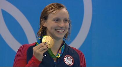 Κορυφαία κολυμβήτρια των Η.Π.Α η Λεντέκι!