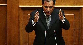 Αδωνις: Με τις πολλές ευγένειες δεν αντιμετωπίζεται ο ΣΥΡΙΖΑ