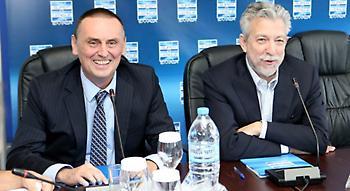 Στράτος: «Η συνάντηση με τον Κοντονή αποτελεί δικαίωση δεκαετιών για το ποδόσφαιρο»