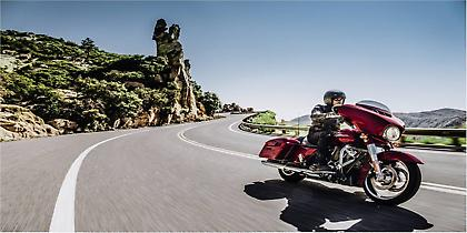 Νέες και πανίσχυρες touring μοτοσικλέτες Harley-Davidson