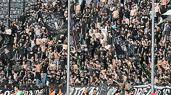 Δυναμικό «παρών» των οπαδών του ΠΑΟΚ στη Βέροια